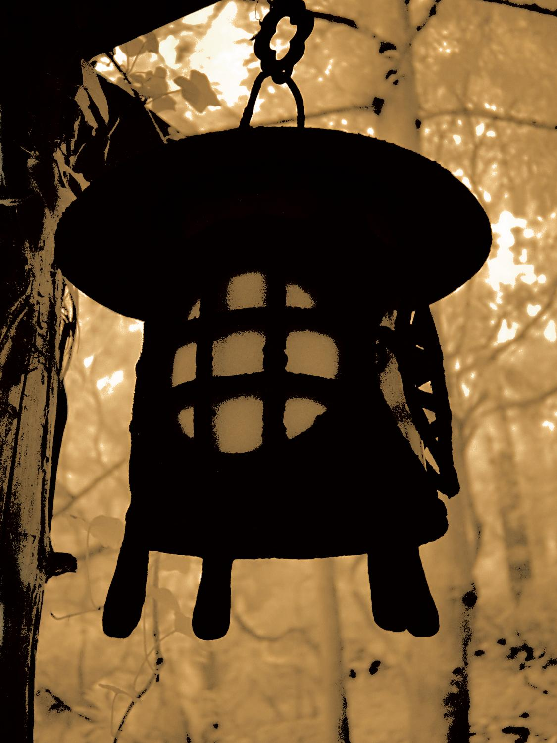 - Japanese lantern - Techno-Impressionist Museum - Techno-Impressionism - art - beautiful - photo photography picture - by Tony Karp
