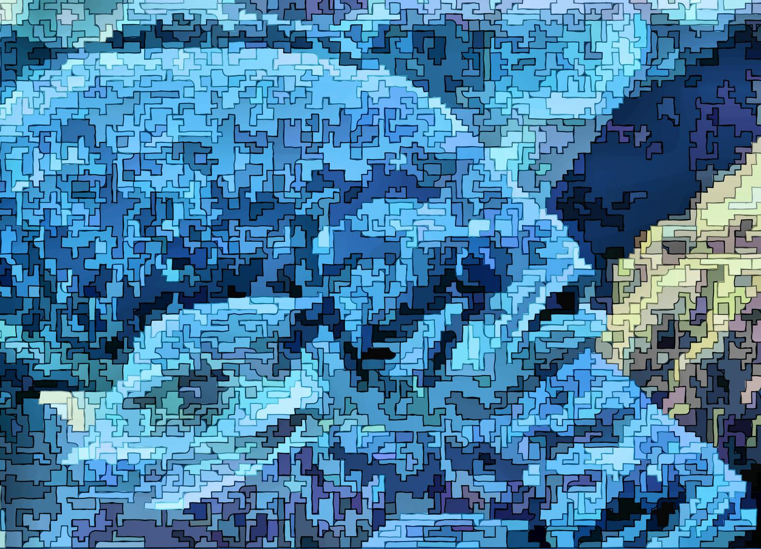 - Puzzlefish - Techno-Impressionist Museum - Techno-Impressionism - art - beautiful - photo photography picture - by Tony Karp