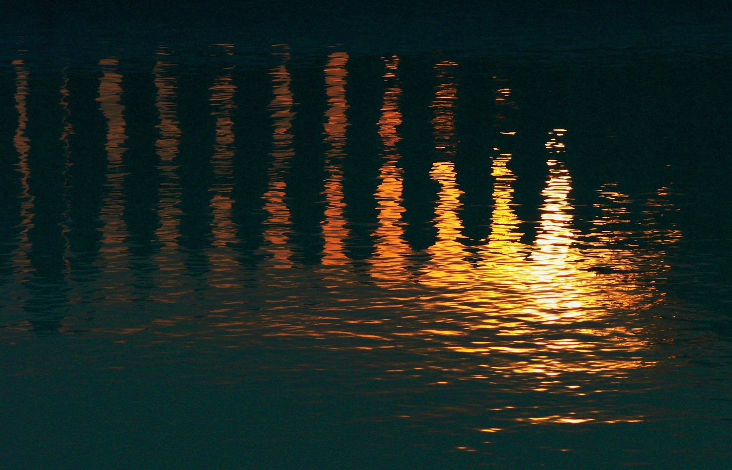 - Sunset in the pool - Techno-Impressionist Museum - Techno-Impressionism - art - beautiful - photo photography picture - by Tony Karp
